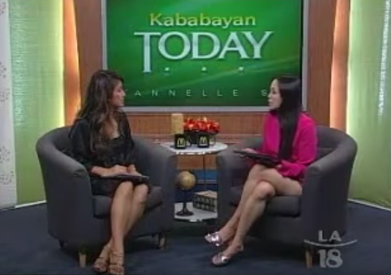 Interview on Kababayan TV Show 2
